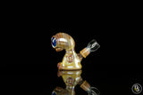 Swanny Glass Alien Caramel