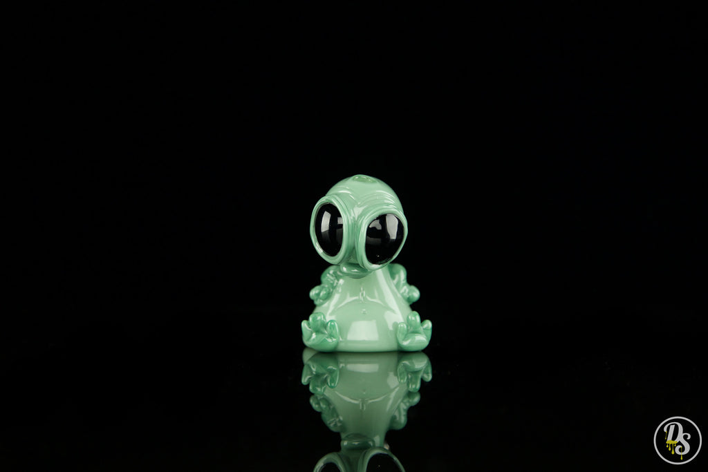 Swanny Glass Alien Teal