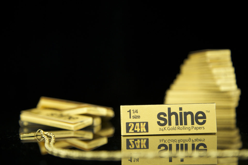 24k Shine Rolling Papers
