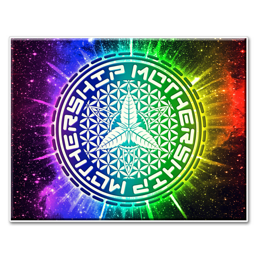 Mothership Oil Slick Pad Rainbow Galaxy