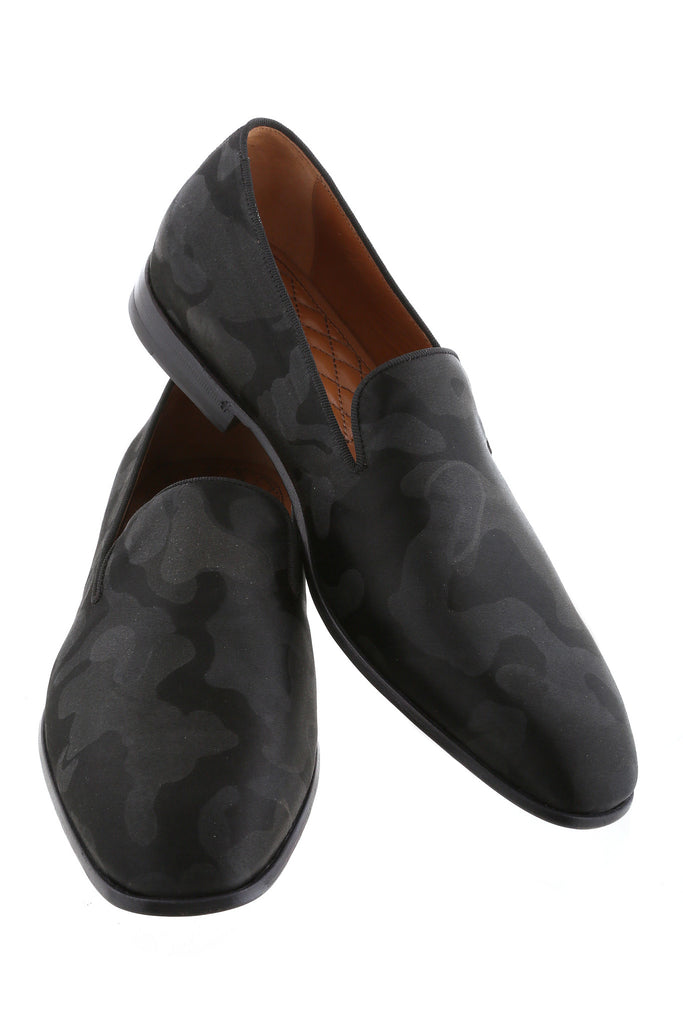 Black Camo Luciano Loafers