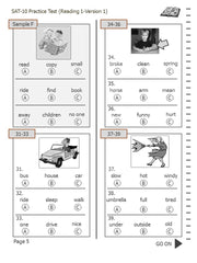 Test/Assessment Resource for First Grade (Reading-Version 1)