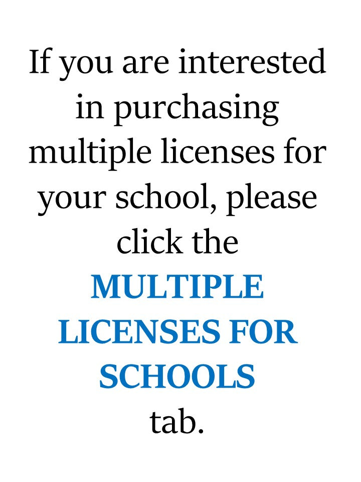 Multiple Licenses for Schools