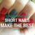 Top 7 reasons why short nails are best for manicures