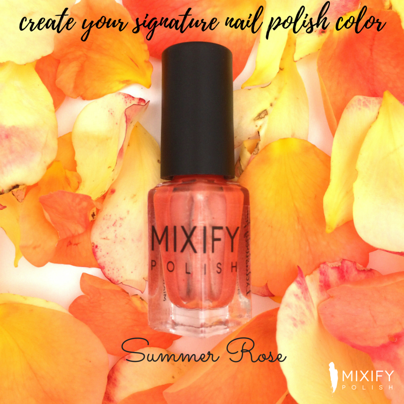 Make your own nail polish color tutorial - Mixify Beauty