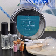 POLISH Artisan Nails mini kit