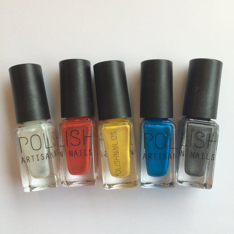 Create any nail polish color from just three colors