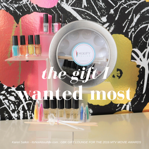The gift I wanted most - Mixify Polish create your signature nail polish color