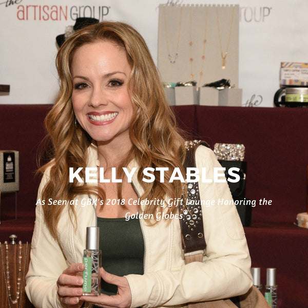 Kelly Stables #SuperStore #AngryBirds Mixify Beauty DIY Perfume GBK's 2018 Celebrity Gift Lounge Honoring the Golden Globes