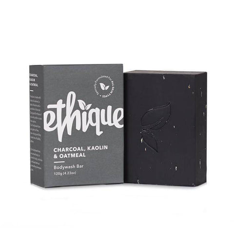 Ethique Charcoal,Kaolin & Oatmeal Bodywash Bar 120g(4.23oz)