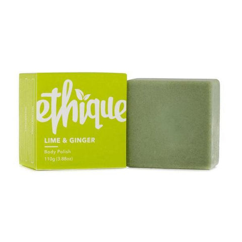 Ethique Lime and Ginger Body Polish 110g Bar