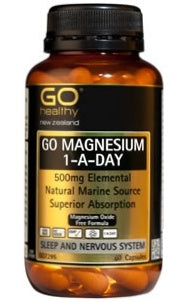 Go Healthy Go Magnesium 1-A-Day Deal  2x 60 capsules