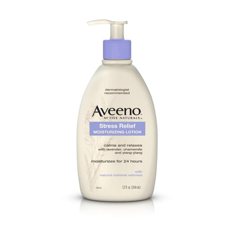 Aveeno Stress Relief Moisturising Lotion 354ml