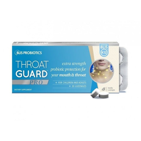 Blis Throat Guard Pro 30 Lozenges Vanilla
