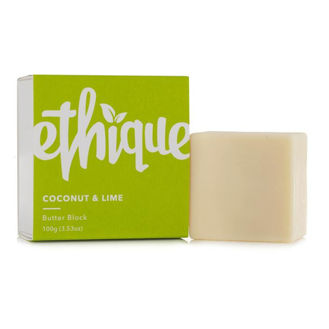 Ethique Coconut & Lime Butter Block 100g