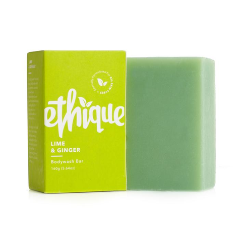 Ethique Lime & Ginger Bodywash Bar 160g