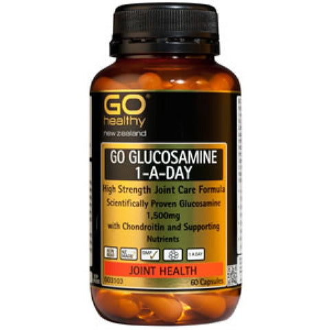 Go Healthy Glucosamine 1aDay 1500mg 60caps