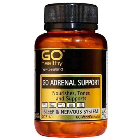 Go Healthy Adrenal Support 60vcaps