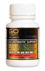Go Healthy Antibiotic Support Probiotic 40B 14caps