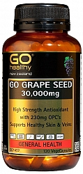 Go Grape Seed 30,000mg 120 Vege Caps