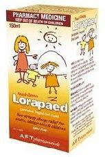 Lorapaed Hayfever Relief 150ml