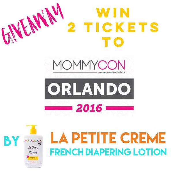 GIVEAWAY - Enter to win 2 tickets to MommyCon Orlando - Sept 3rd 2016