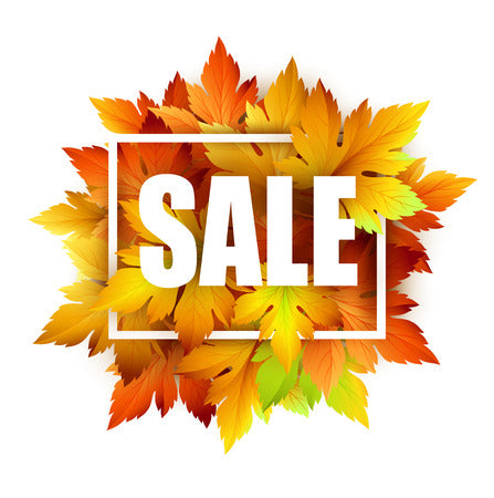 FALL Sale - 25% OFF