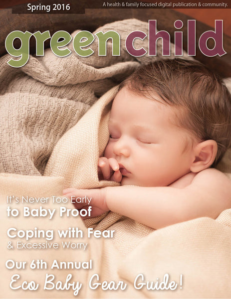 Featured in Green Child Magazine 2016 Eco Baby Gear Guide