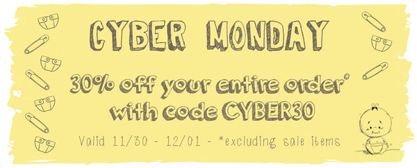SALE - Cyber Monday COUPON 30% off