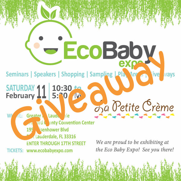 GIVEAWAY! WIN 2 tickets to the upcoming EcoBaby Expo in Fort Lauderdale, FL