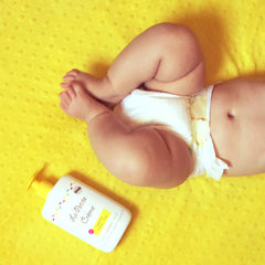 Replace baby wipes by French diapering lotion