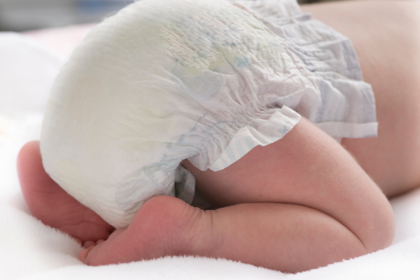 Disposable diaper without diaper rash