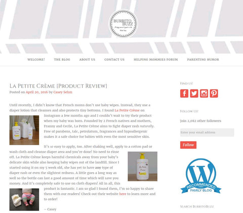 La Petite Creme - Review by Burrito Buzz