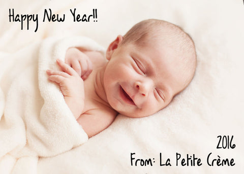 La Petite Creme - 2016 New Year Card - Olive Oil Limestone Liniment