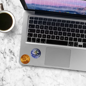 Planets stickers