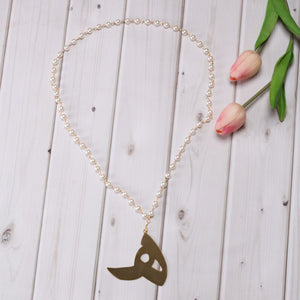 Aral Arabic Letter Necklace هـ