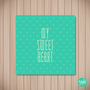 my sweet heart green