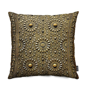 Ancient Kaaba Door Pillow