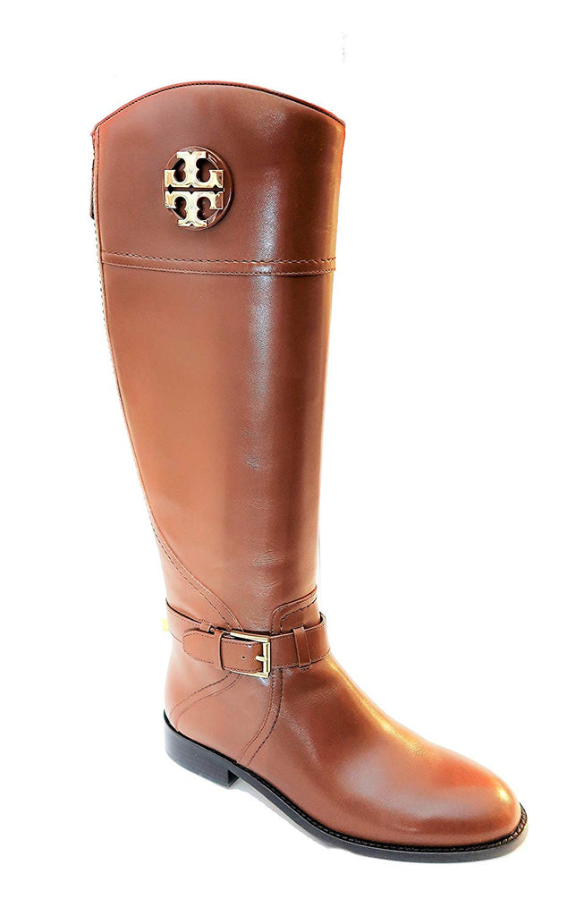 b71f57f21aee TORY BURCH ADELINE 20MM TUMBLED RIDING BOOT (ALMOND) ...