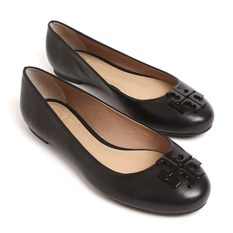 e996fdc5d TORY BURCH LOWELL 2 BALLET FLAT- ROUND TOE (Perfect Black)