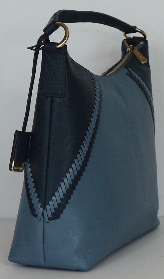 a675f0e4539a ... MICHAEL KORS Karson Large Shoulder Bag In Denim Navy ...