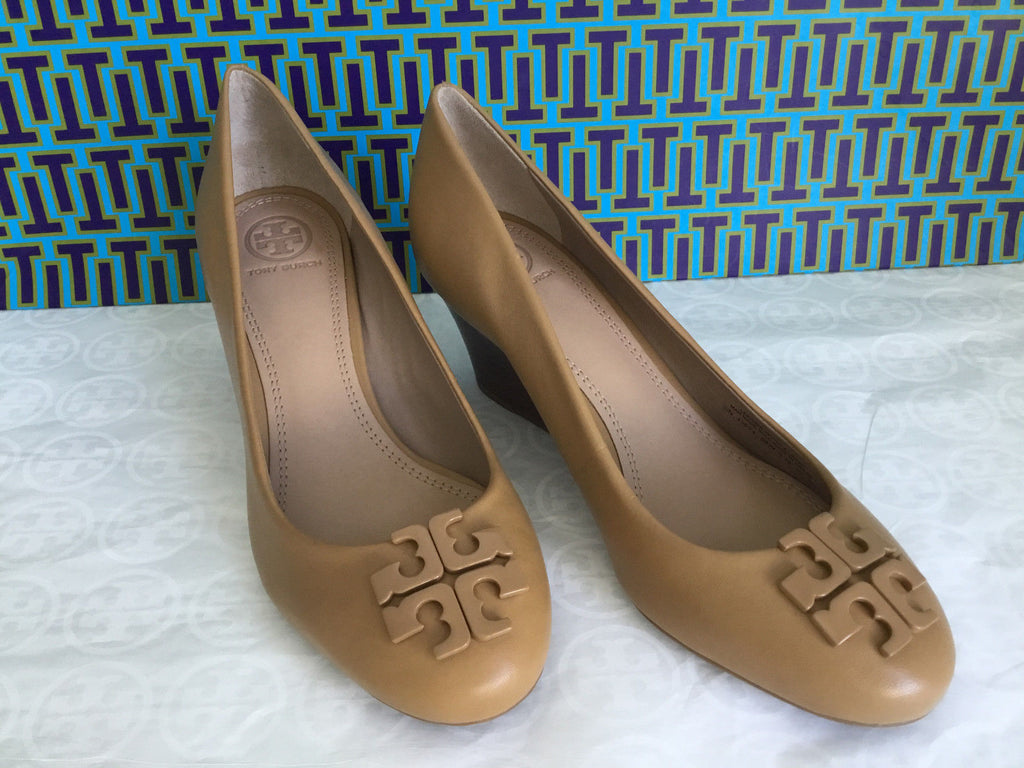 afaa26712abb ... TORY BURCH LOWELL 2 65MM WEDGE (BLOND)