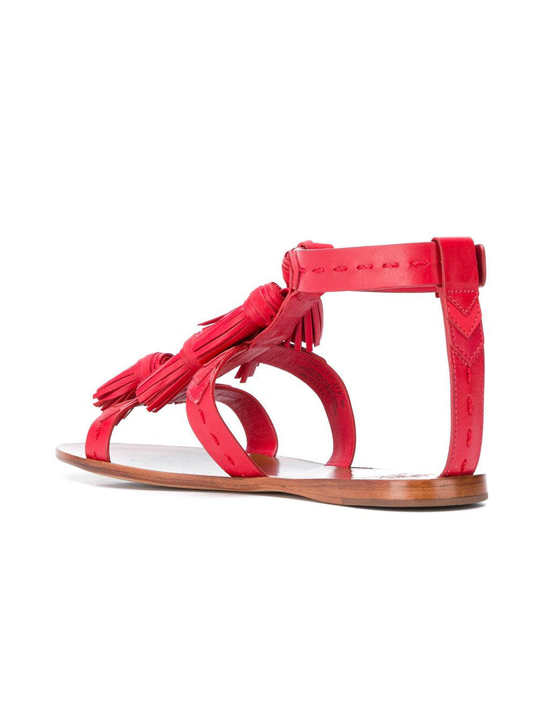 f1a5682fc8bc18 ... TORY BURCH WEAVER TASSEL SANDAL (Nautical Red) ...