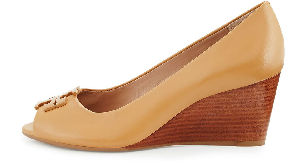 a9912c24aa73 ... TORY BURCH LOWELL 2 65MM PEEP TOE WEDGE (BLOND)