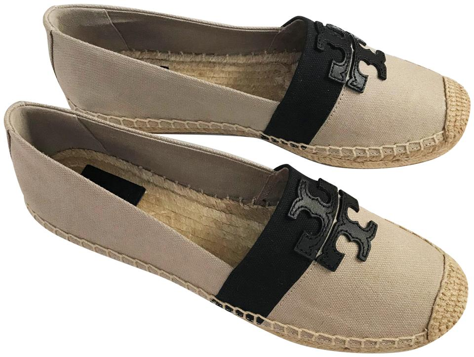 29bbdfb5270 ... TORY BURCH WESTON FLAT ESPADRILLE (Natural-Black   Black) ...