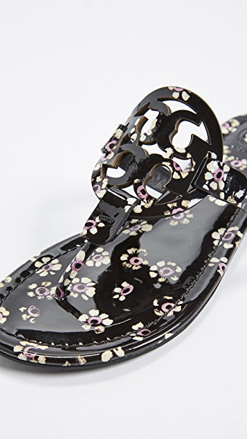 a574c715c1c ... TORY BURCH MILLER (Black Stamped Floral)