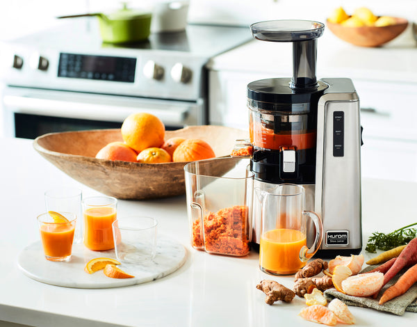 Hurom Slow Juicer Morning Routine