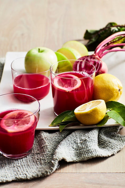 Hurom Beet Apple Juice