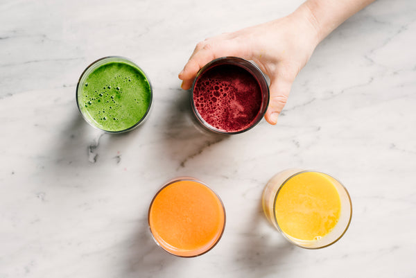 pomegranate, orange, pineapple energizing juice recipes