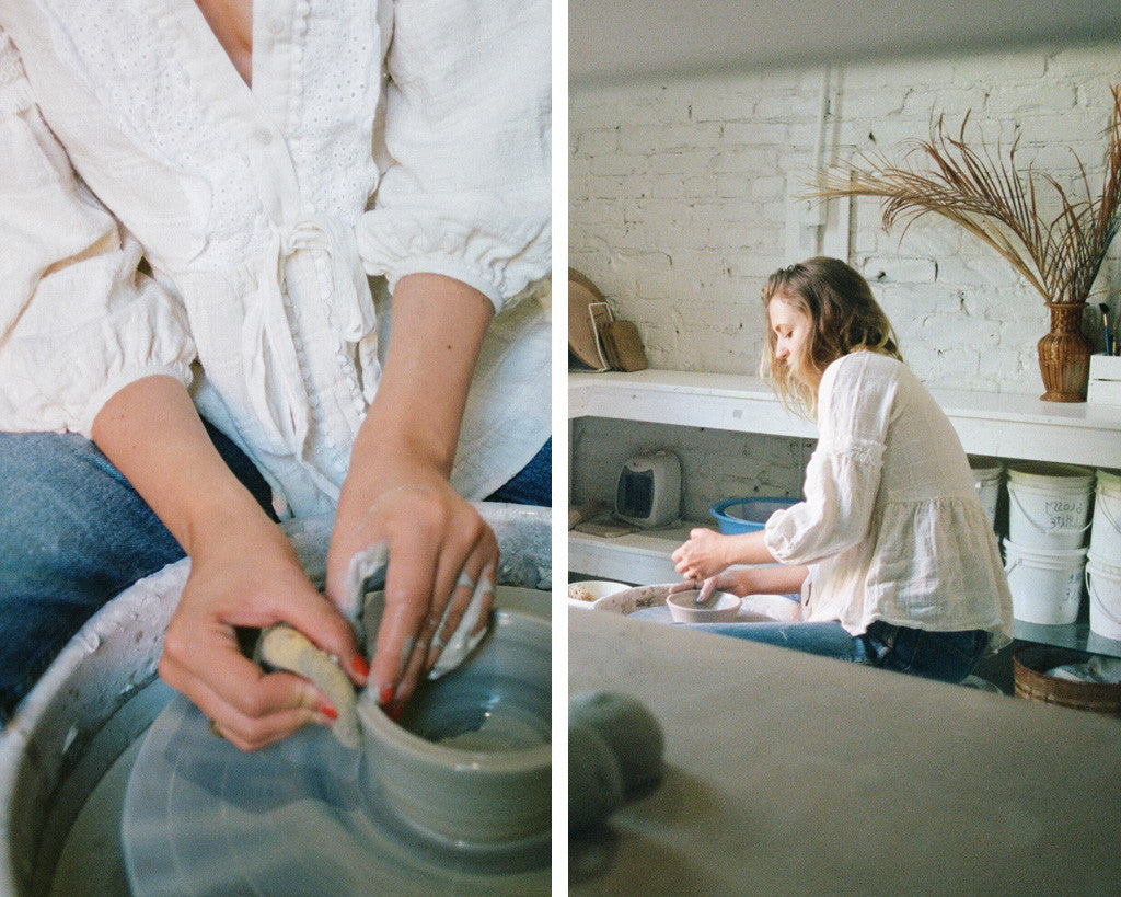 Rachel Saunders Ceramics talks to the Stevie May Collective